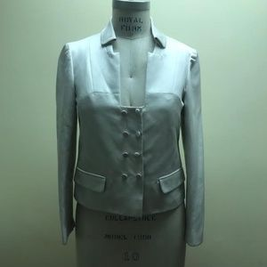 VALENTINO Double-Breasted Jacket, Size S/US 4